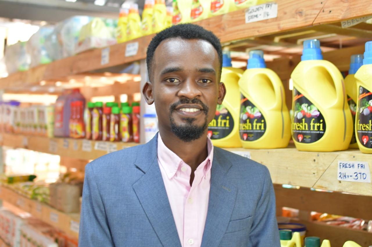 Uzapoint|Kenneth Muoki - Director, Zeeto Mini - Supermarket
